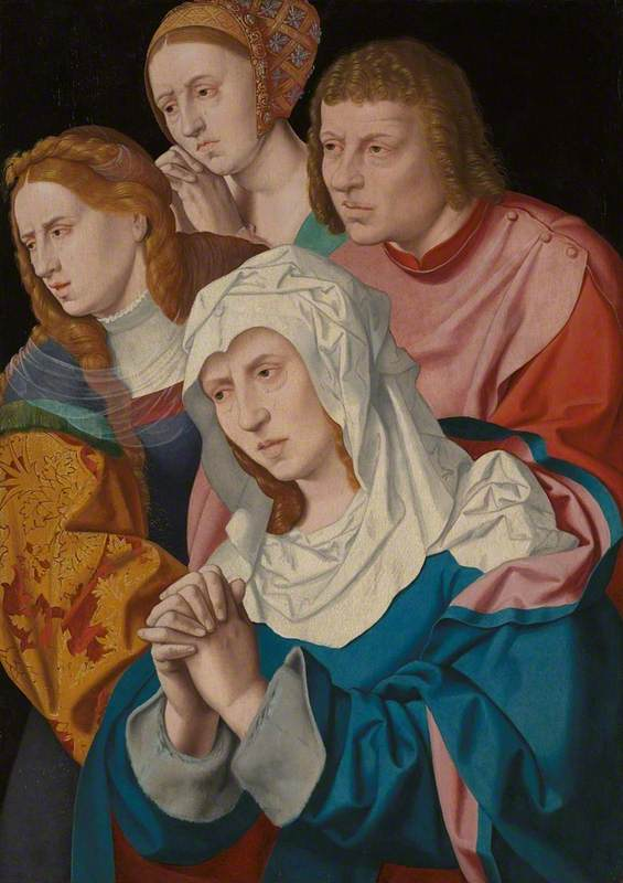 The Virgin, Saint John, Saint Mary Magdalene and a Holy Woman