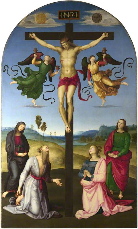 The Crucified Christ with the Virgin Mary, Saints and Angels (The Mond Crucifixion)