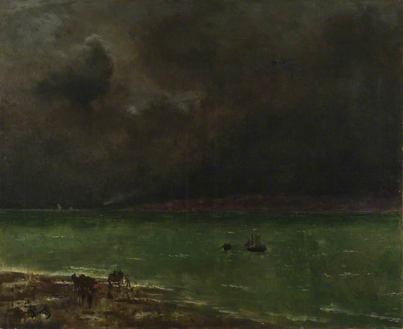 Storm at Honfleur