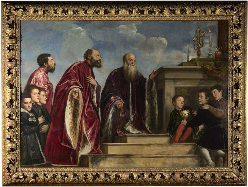 The Vendramin Family, venerating a Relic of the True Cross