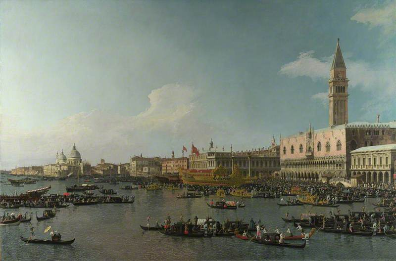 Venice: The Basin of San Marco on Ascension Day