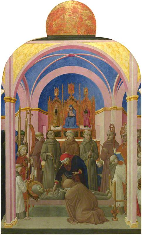 The Funeral of Saint Francis and Verification of the Stigmata