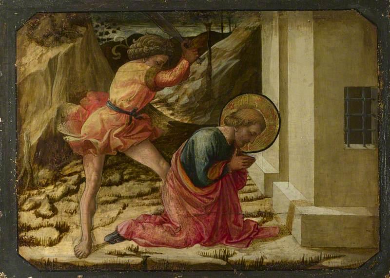 Beheading of Saint James the Great: Predella Panel