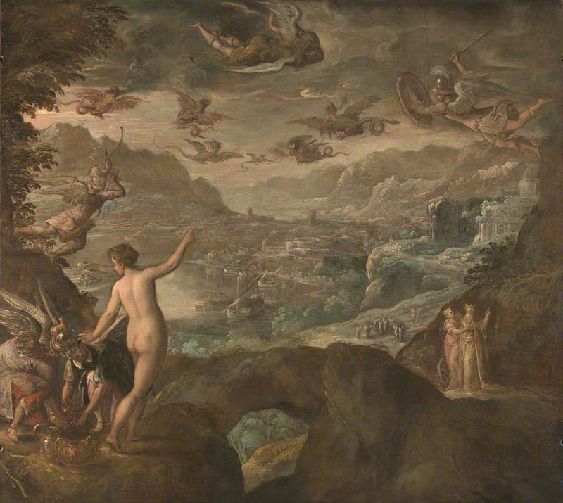 Landscape with the Expulsion of the Harpies