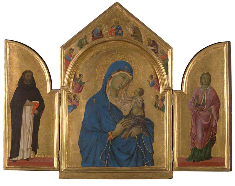 The Virgin and Child with Saints Dominic and Aurea