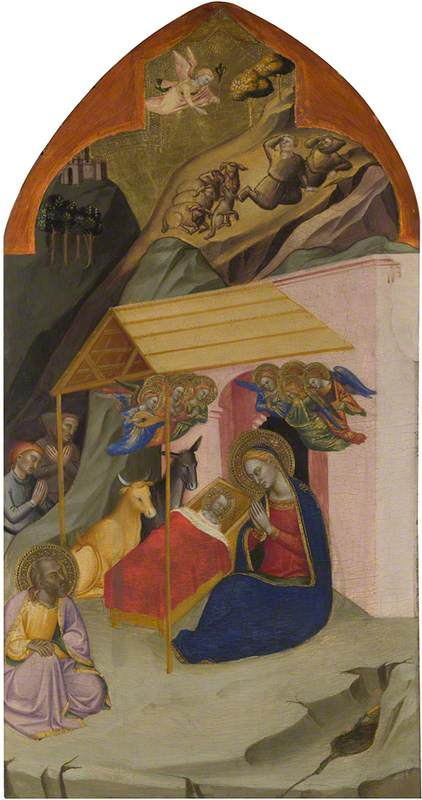 The Nativity and Annunciation to the Shepherds