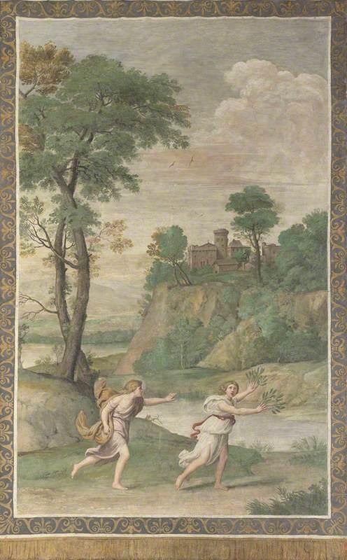 Apollo pursuing Daphne