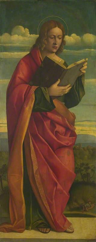A Youthful Saint Reading
