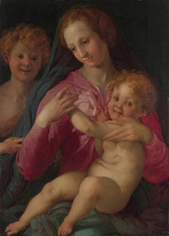 The Madonna and Child with the Infant Baptist