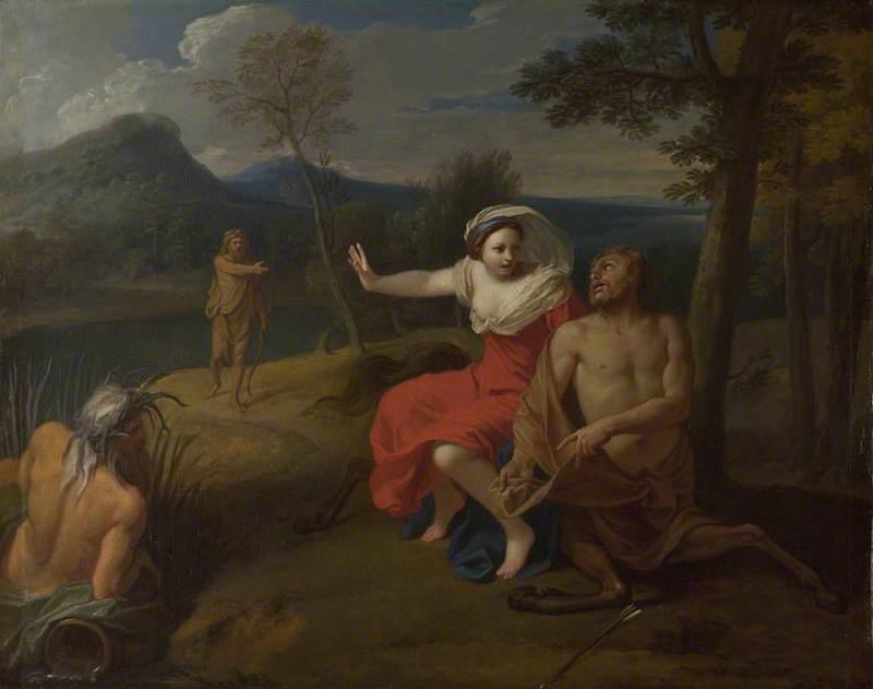 Nessus and Dejanira