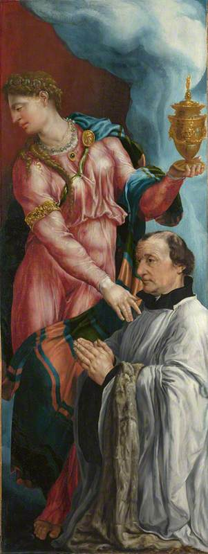 The Donor and Saint Mary Magdalene