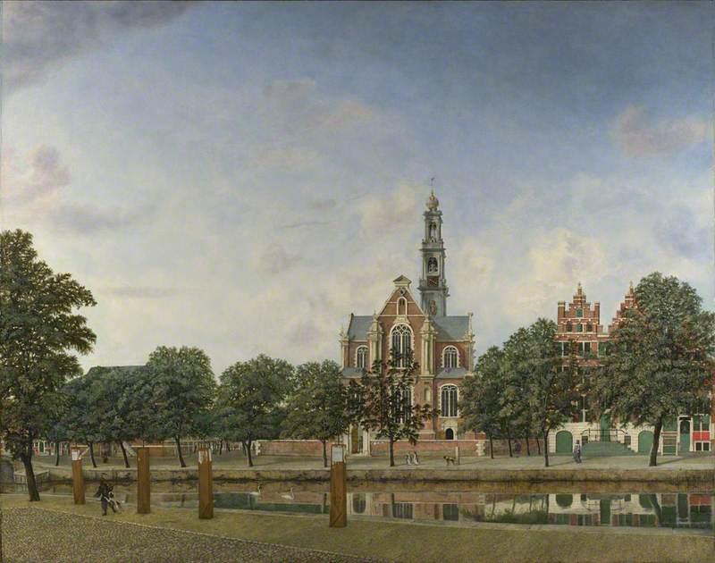 View of the Westerkerk, Amsterdam