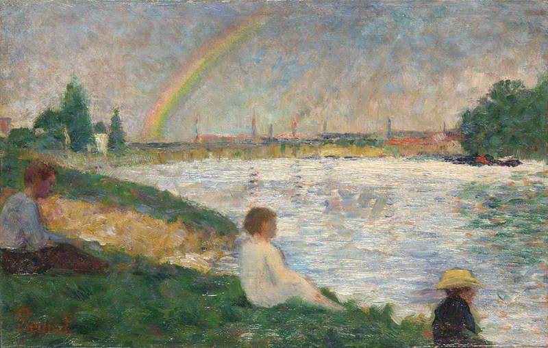 The Rainbow: Study for 'Bathers at Asnières'