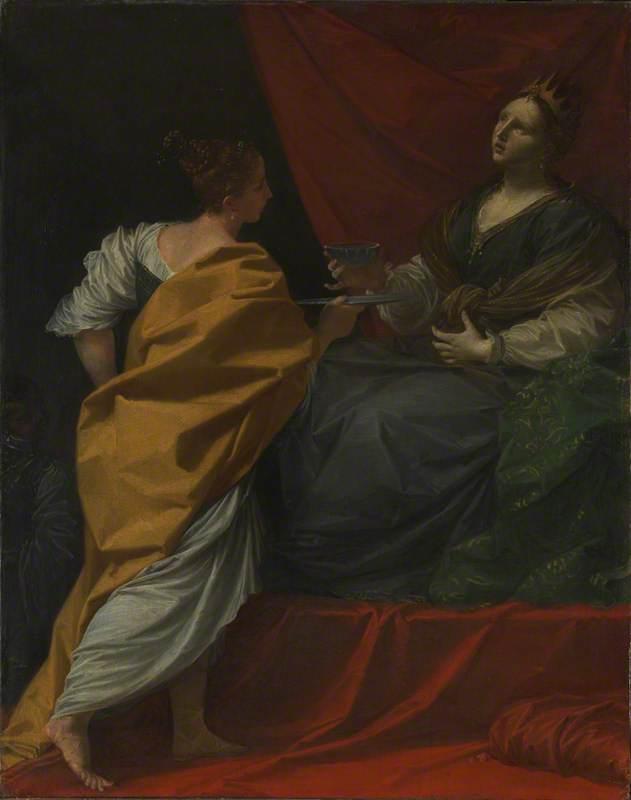 Artemisia drinking the Ashes of Mausolus
