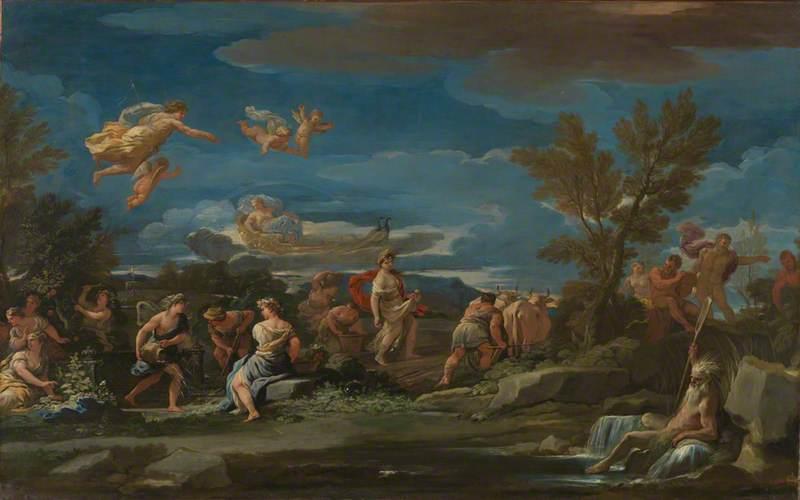 Mythological Scene of Agriculture