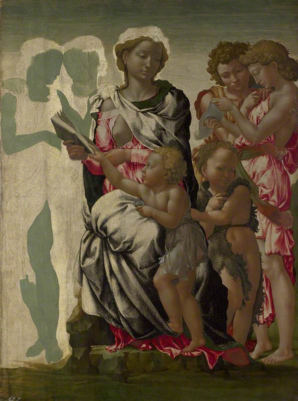 The Virgin and Child with Saint John and Angels ('The Manchester Madonna')