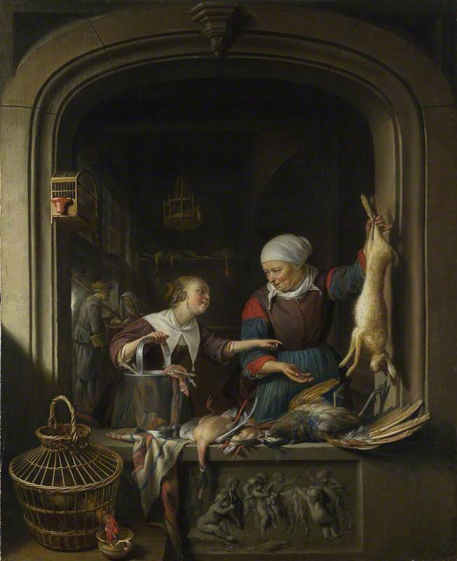 A Poulterer's Shop