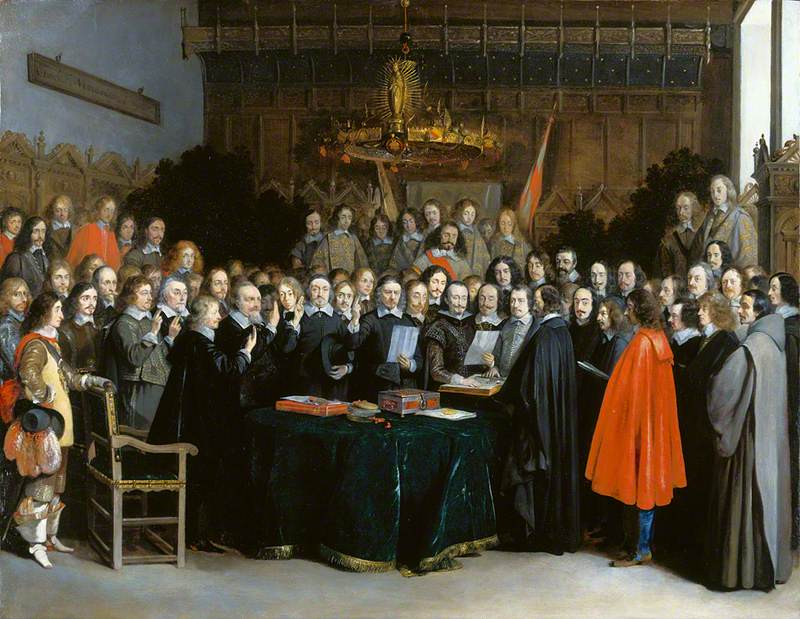 The Swearing of the Oath of Ratification of the Treaty of Münster