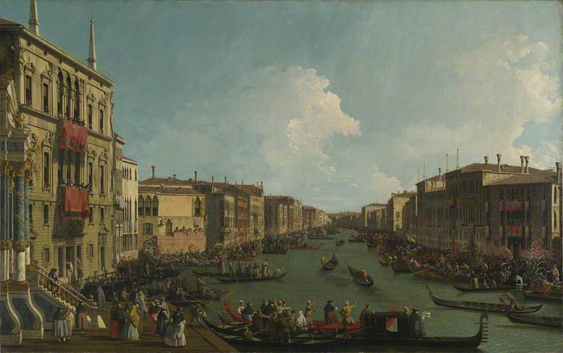 Venice: A Regatta on the Grand Canal