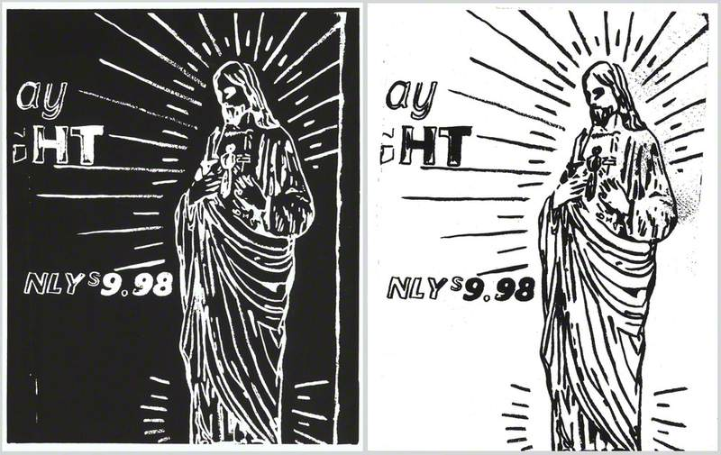 Christ $9.98 (negative and positive)