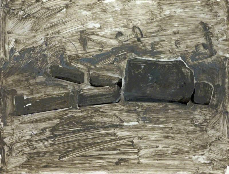 Jungfrau (Holz) (Wooden Virgin)