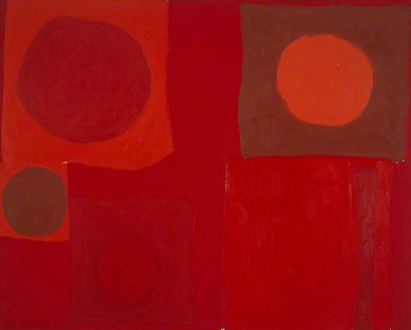 Red Painting: 25 July 1963