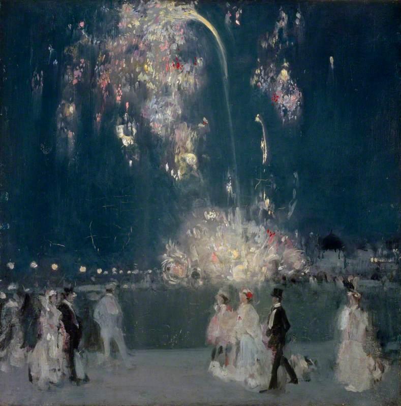 Dieppe, 14 July 1905: Night