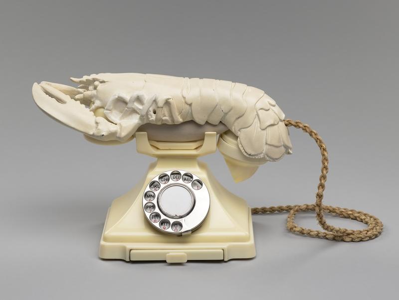 Lobster Telephone 1938 Salvador Dalí (1904–1989)  and Edward James (1907–1984)