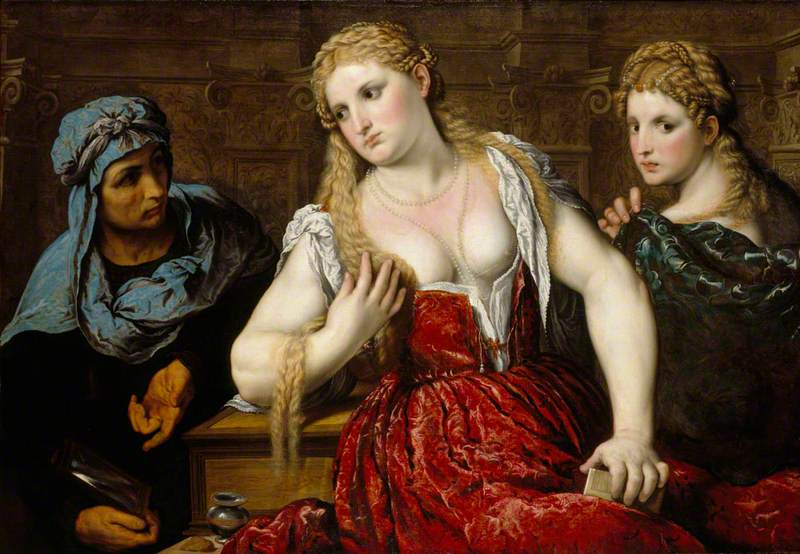Venetian Women at their Toilet