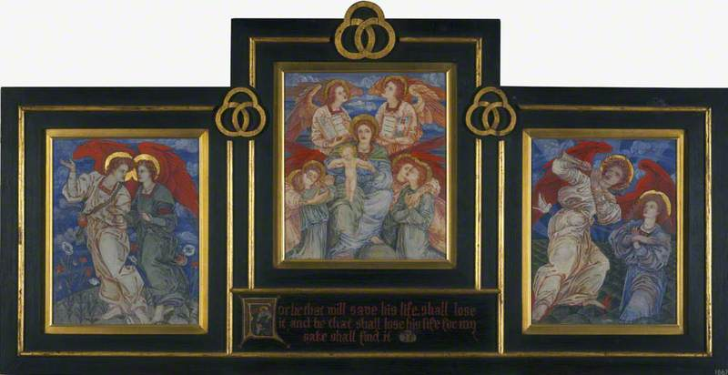 Three Studies for the Decoration of the First Mortuary Chapel, the Royal Hospital for Sick Children, Edinburgh