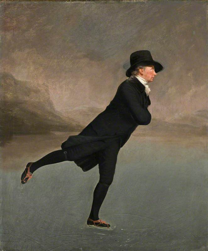 Reverend Dr Robert Walker (1755–1808) Skating on Duddingston Loch