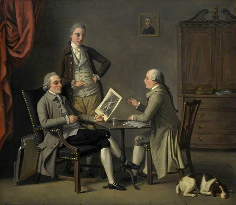 The Connoisseurs: John Caw (d.1784), John Bonar (1747–1807) and James Bruce