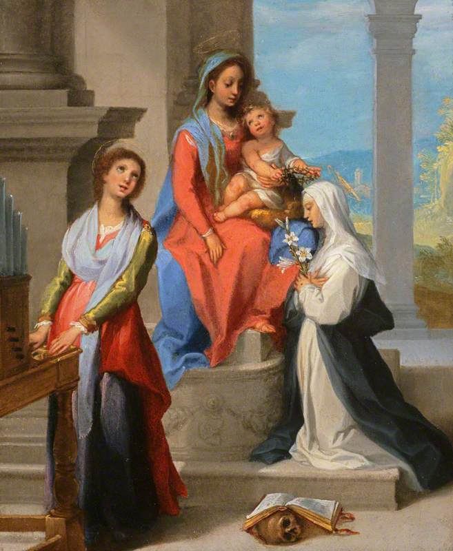 Madonna and Child with Saint Catherine of Siena and Saint Cecilia