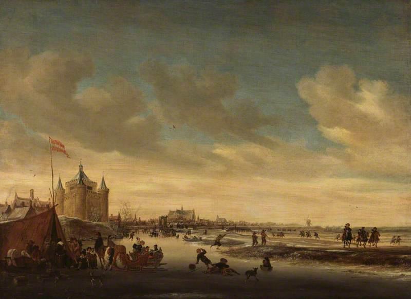 Alkmaar in Winter