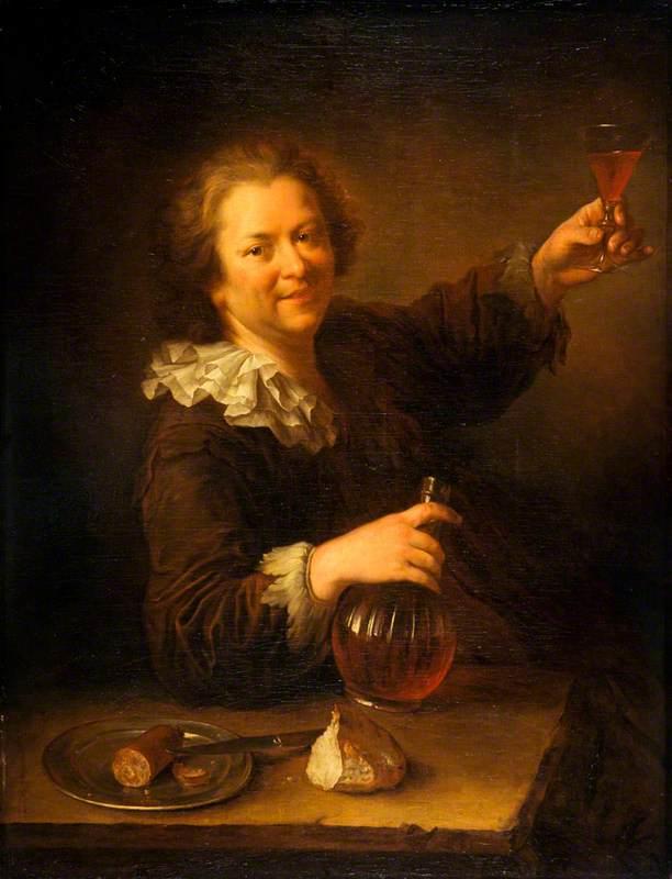 Self Portrait as a Drinker