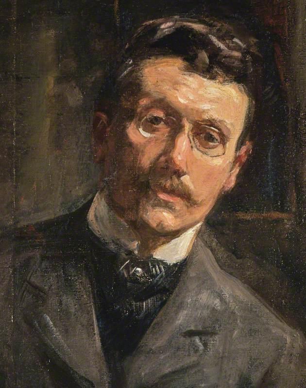 Alexander Ignatius Roche (1861–1921), Artist, Self Portrait