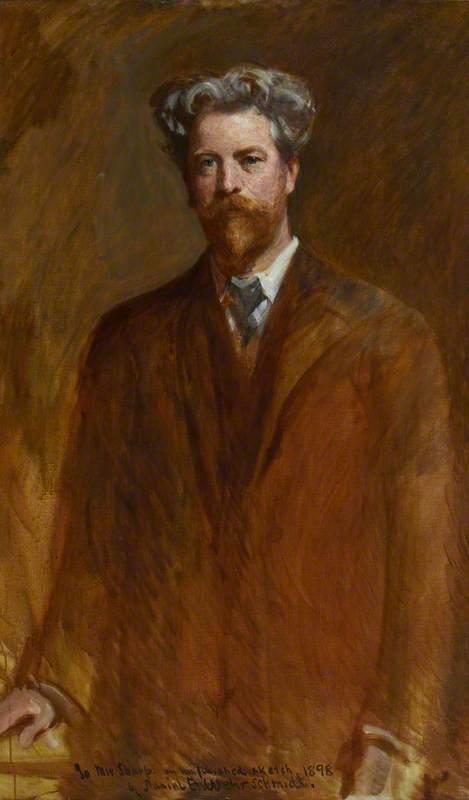 William Sharp (1855–1905), Author and Poet (Nom de Plume Fiona MacLeod)