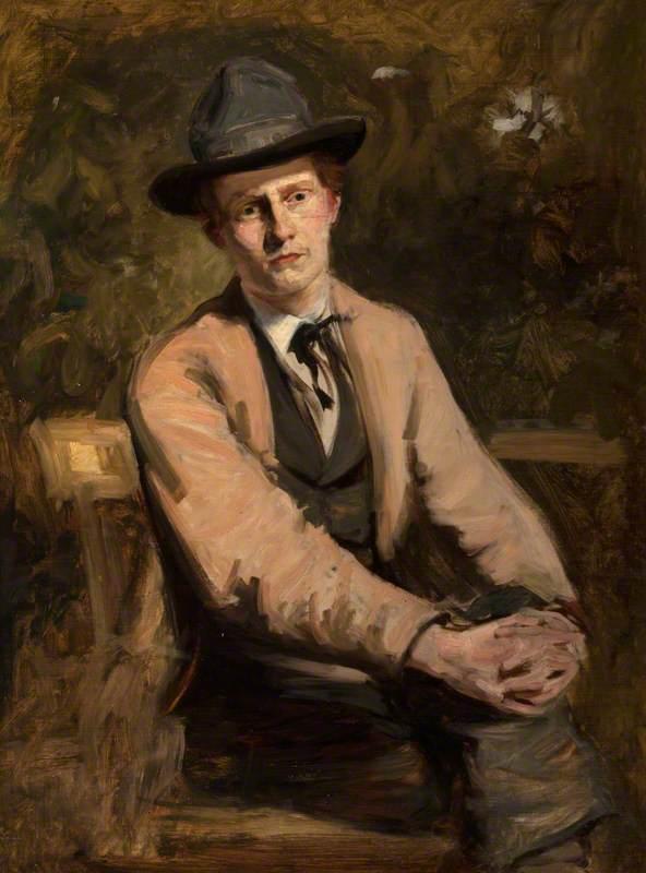 William Darling McKay (1844–1924), Artist, Self Portrait in his Studio
