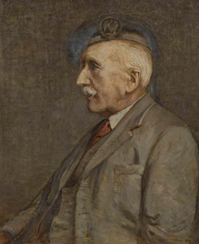 Robert Weir Allan (1852–1942), Artist, Self Portrait