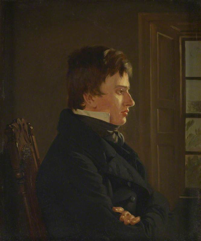 Thomas Sword Good (1789–1872), Painter in Berwick, Self Portrait