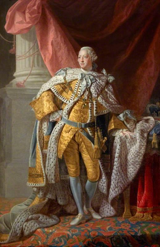 George III (1738–1820), Reigned 1760–1820