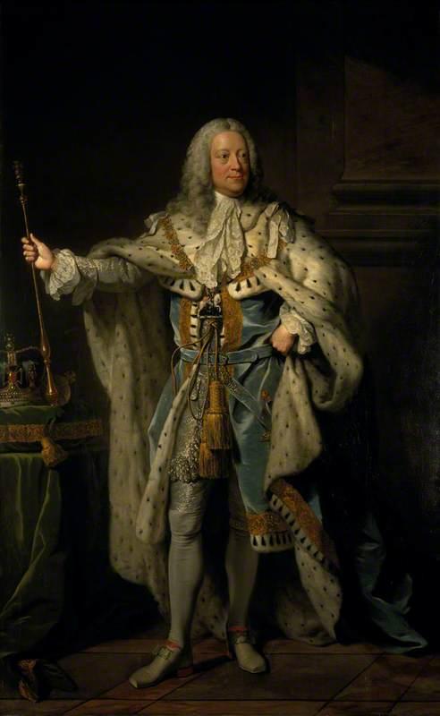 George II (1683–1760), Reigned 1727–1760
