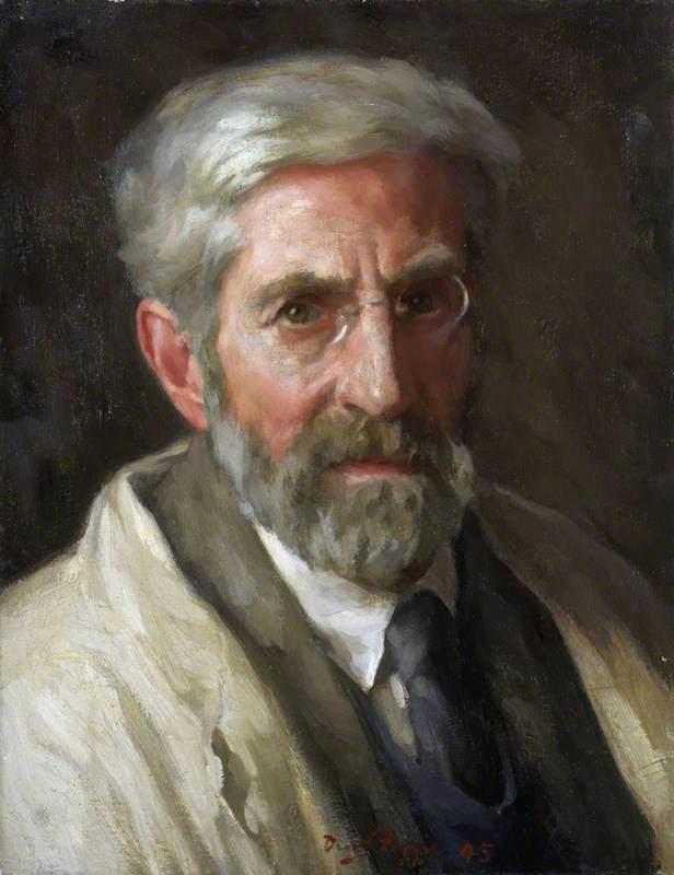 David Foggie (1878–1948), Artist, Self Portrait