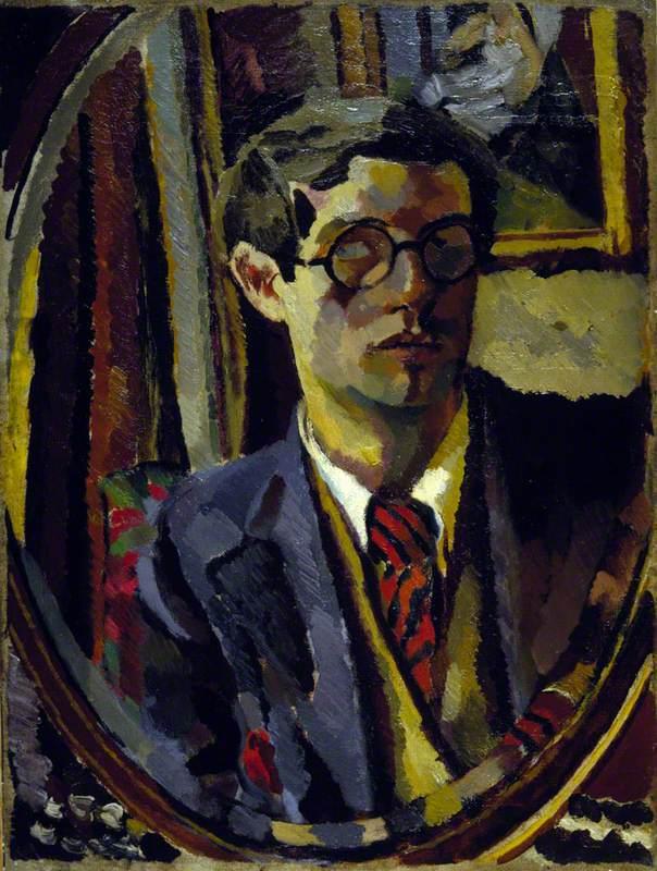 Duncan Grant (1885–1978), Artist, Self Portrait