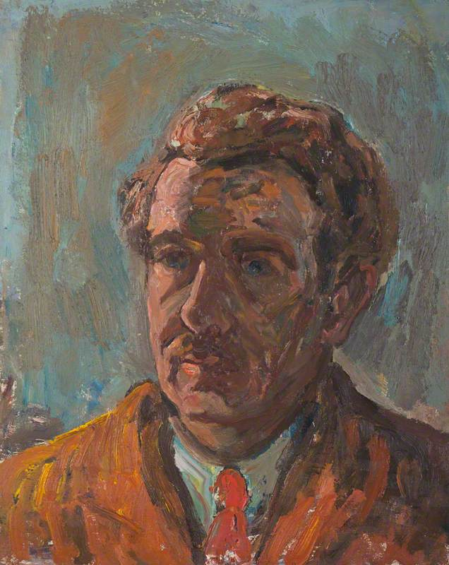 Sir William MacTaggart (1903–1981), Artist, Self Portrait