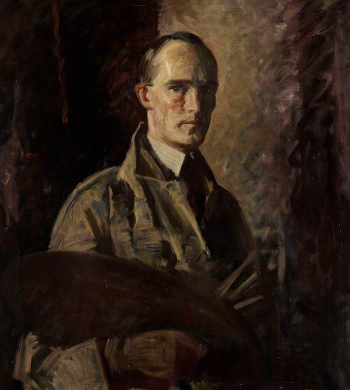 David Ewart (1901–1965), Artist, Self Portrait