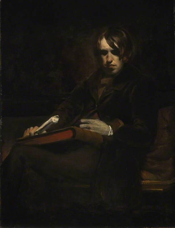 Sir William Fettes Douglas (1822–1891), Artist, Self Portrait