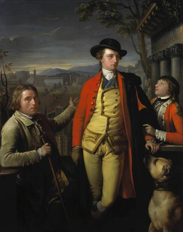 Douglas Hamilton (1756–1799), 8th Duke of Hamilton and 5th Duke of Brandon, with Dr John Moore (1730–1802) and Sir John Moore (1761–1809) as a Young Boy
