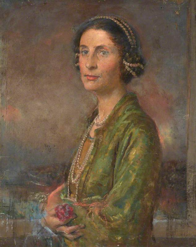 Portrait of the Artist's Wife, Audrey