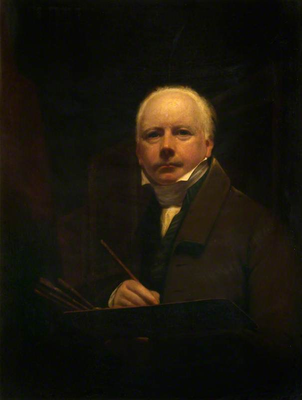George Watson (1766–1837), Artist and First President of the Scottish Academy (Self Portrait)